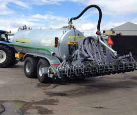 Major Disc Injector Low Emission Slurry Application System