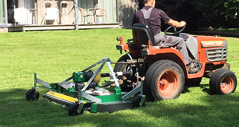 Finishing Mower | Major Equipment