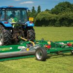 wide area mower, trailed roller mower, roller mower, roller mowers, trailed finishing mower with rollers