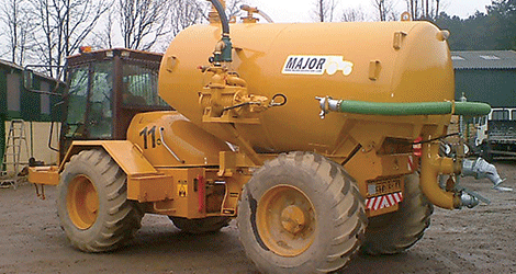 Quattro UK Hydrema Self Propelled Dust Suppressor