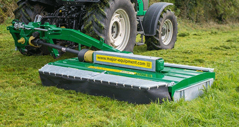 cMajor Side Mounted Grass Topper