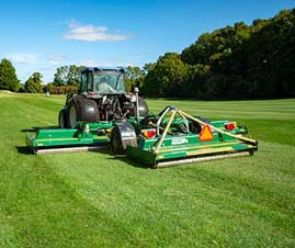Major TDR Roller Mower in Golf Course