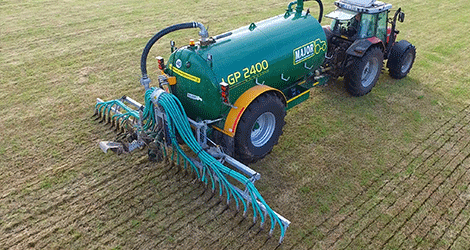 Major Trailing Shoe Low Emission Slurry Applicator