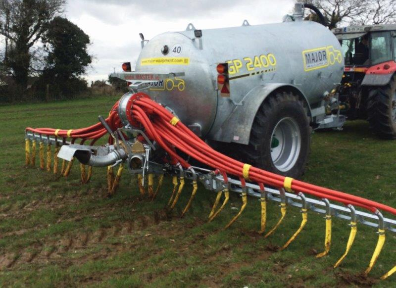 Looking To Upgrade To A Low Emission Slurry Spreading