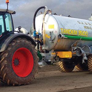 Major Tandem Axle Slurry Tanker