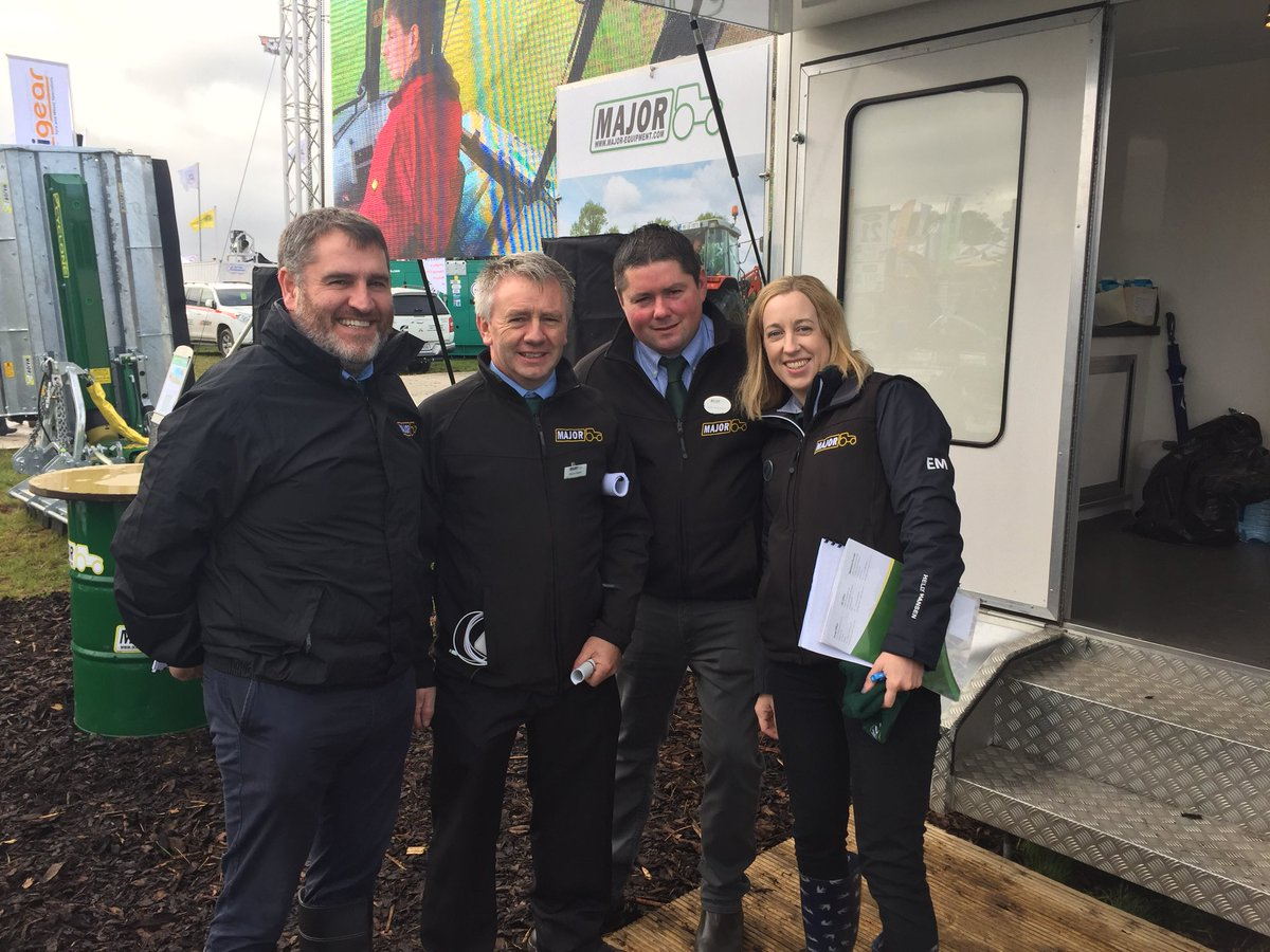 Major team at Ploughing 2018