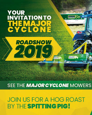 Major Cyclone Roadshow Invite