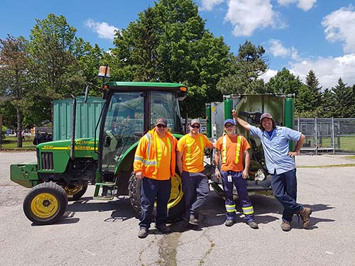City of Oshawa Parks & Facilities Crew
