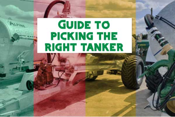 Major Equipment guide to picking the right slurry tanker