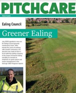Greener Ealing in PitchCare Magazine